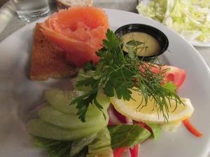 Savourer du saumon en suède